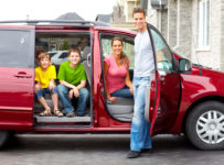 rodzinny minivan