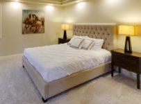 łóżko małżeńskie z podwójnym materacem